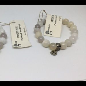Jewelry - 2 moonstone gem bracelets